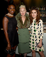 LOS ANGELES, CA - SEPTEMBER 16: (L-R) Adina Porter, Lou Eyrich and Kiernan Shipka attend the FX Networks and Vanity Fair 2017 Primetime Emmy Nominee Celebration at Craft LA on September 16, 2017 in Los Angeles, California. (Photo by Frank Micelotta/FX/PictureGroup)
