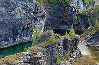 Granite quarry, Maine, USA