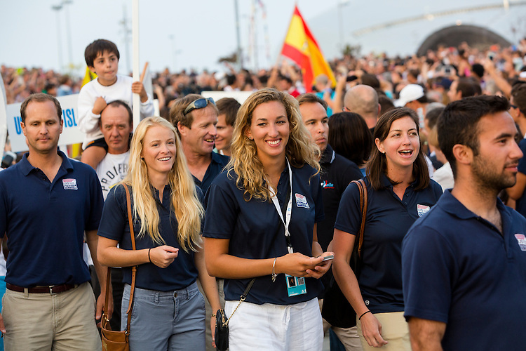 20140911, Santander, Spain: 2014 ISAF SAILING WORLD CHAMPIONSHIPS - More than 1,250 sailors in over 900 boats from 84 nations will compete at the Santander 2014 ISAF Sailing World Championships from 8-21 September 2014. The best sailing talent will be on show and as well as world titles being awarded across ten events 50% of Rio 2016 Olympic Sailing Competition places will be won based on results in Santander.. Photo: Mick Anderson/SAILINGPIX.DK. Keywords: Sailing, water, sport, ocean, boats, olympic, dinghy, dinghies, crew, team, sail. Filename: _49A1061.CR2.