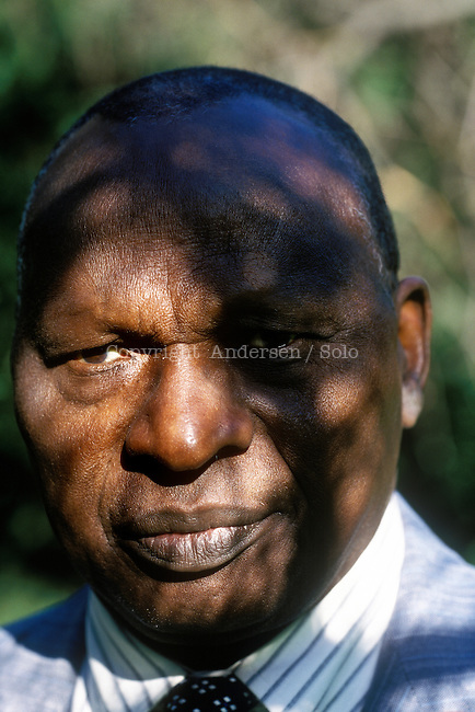 Ahmadou Kourouma, writer from Ivory Coast.