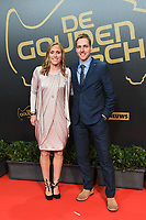 2018207 – BRUSSELS ,  BELGIUM : Janice Cayman and her brother pictured during the  64nd men edition of the Golden Shoe award ceremony and 2nd Women's edition, Wednesday 7 February 2018, in Brussels Heyzel Palace 12. The Golden Shoe (Gouden Schoen / Soulier d'Or) is an award for the best soccer player of the Belgian Jupiler Pro League championship during the year 2017. The female edition is a second in Belgium.  PHOTO DIRK VUYLSTEKE | Sportpix.be