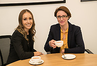 Beth Mather (left) and Victoria Elliott of Gateley plc Nottingham
