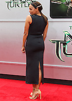 WESTWOOD, LOS ANGELES, CA, USA - AUGUST 03: Tia Mowry at the Los Angeles Premiere Of Paramount Pictures' 'Teenage Mutant Ninja Turtles' held at Regency Village Theatre on August 3, 2014 in Westwood, Los Angeles, California, United States. (Photo by Celebrity Monitor)