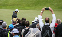 Cameras tracking Rory McIlroy (NIR) during Round Two of the 100th Open de France, played at Le Golf National, Guyancourt, Paris, France. 01/07/2016. Picture: David Lloyd | Golffile.<br /> <br /> All photos usage must carry mandatory copyright credit (&copy; Golffile | David Lloyd)