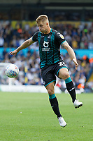 LEEDS, ENGLAND - AUGUST 31: Jake Bidwell of Swansea City in action during the Sky Bet Championship match between Leeds United and Swansea City at Elland Road on August 31, 2019 in Leeds, England. (Photo by Athena Pictures/Getty Images)