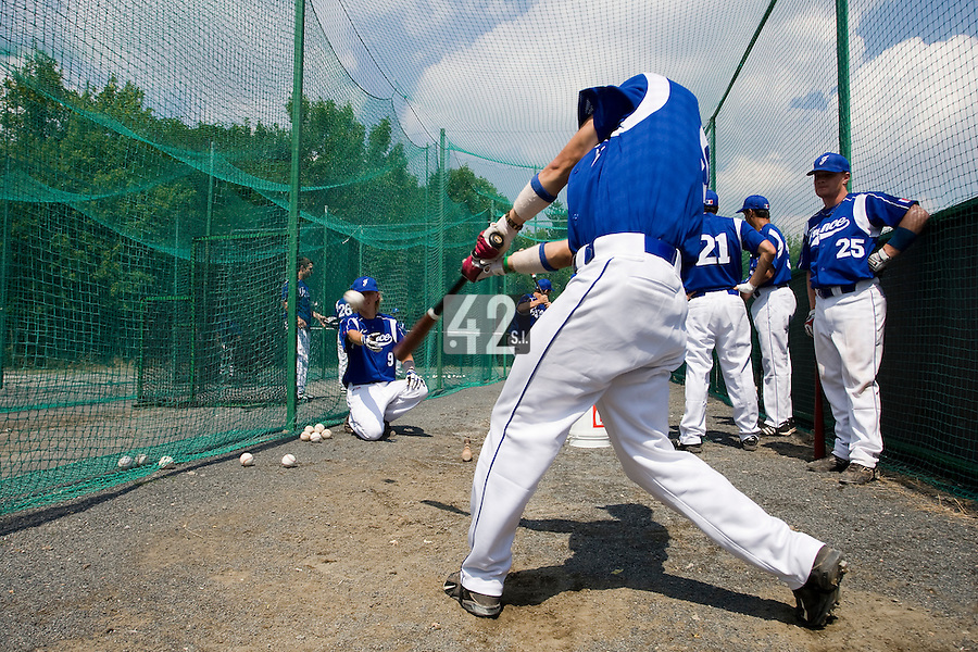 BASEBALL - GREEN ROLLER PARK - PRAGUE (CZECH REPUBLIC) - 24/06/2008 - PHOTO: CHRISTOPHE ELISE.KENJI HAGIWARA (TEAM FRANCE)