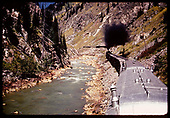 Train (excursion?) in Animas Canyon?<br /> D&amp;RGW  Animas Canyon, CO