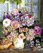 Interlitho, FLOWERS, BLUMEN, FLORES, photos+++++,flowers,vase,window,KL16402,#f#