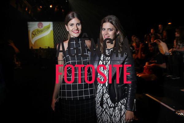 Mariana Cassou e Carolina Cassou<br /> <br /> GIG Couture<br /> <br /> S&atilde;o Paulo Fashion Week- Ver&atilde;o 2016<br /> Abril/2015<br /> <br /> foto: Midori de Lucca/ Ag&ecirc;ncia Fotosite