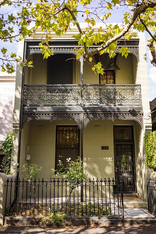 A decorative house in Melbourne Australia
