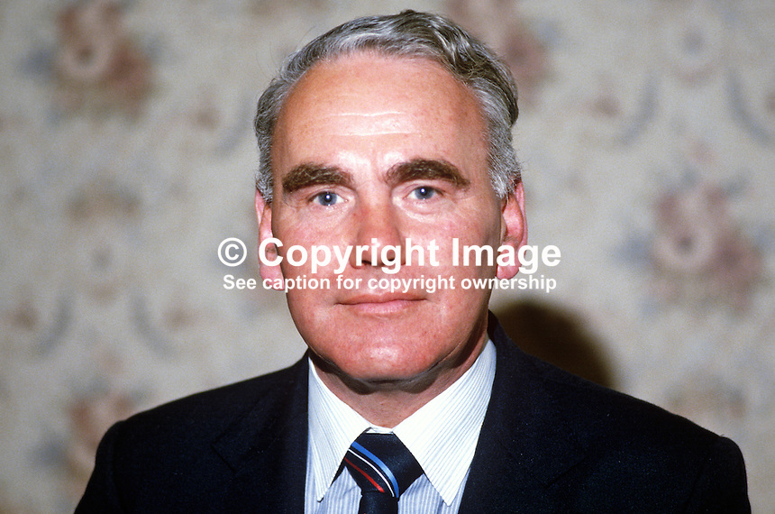 Oliver Gibson, councillor, Omagh, Co Tyrone, N Ireland, UK, DUP, Democratic Unionist Party, 19840062OG1.<br /> <br /> Copyright Image from Victor Patterson, 54 Dorchester Park, Belfast, UK, BT9 6RJ<br /> <br /> t1: +44 28 9066 1296<br /> t2: +44 28 9002 2446<br /> m: +44 7802 353836<br /> <br /> e1: victorpatterson@me.com<br /> e2: victorpatterson@gmail.com<br /> <br /> www.victorpatterson.com<br /> <br /> IMPORTANT: Please see my Terms and Conditions of Use at www.victorpatterson.com