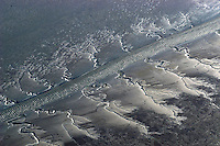 Wattenmeer: EUROPA, DEUTSCHLAND, SCHLESWIG-HOLSTEIN, 18.05.2004:Priel, Fluss im Wattenmeer bei Ebbe, vergaenglich,  Watt, Wattenmeer, Nationalpark Niedersaechsisches Wattenmeer, Deutschland, Schleswig-Holstein, Reise, Urlaub, Landschaft, Natur, Priel, Watt, Wattenmeer, Wasser, Sand, Wellen, Priel, Nordsee, Meer, Deutsche, Bucht, Luftbild, Luftansicht, Ebbe, Flut, Gezeiten, Tide, Deich, Naturschutz, geschuetzt, einsam, endlos, still, ruhig , aerial photograph, air opinion, alone, bay, bight, billows, break, calm, calmly, conservation, countryside, cove, dateless, dike, easeful, easefully, eau, ebb, endless, endlessly, exeat, flood, flow, german, germany, halcyon, hush, infinite, interminable, interminably, journey, landscape, leave, lone, lonely, lonesome, lonesomely, low tide, lower saxony, moon, mud flats, mum, mumly, nature, never-ending, north dyke, north sea, proprietary, protected, protective, quiescent, quiescently, quiet, quietly, reposeful, reposefully, restful, restfully, safe, sand, sea, sedately, shallows, sheltered, silent, silently, smoothly, solitarily, solitary, spate, staid, still, stilly, tacitly, territory, tidal, tideland, tides, trademarked, tranquil, tranquilly, travel, trek, voyage, wadden sea, water, watt, waves. .c o p y r i g h t : A U F W I N D - L U F T B I L D E R . de.G e r t r u d - B a e u m e r - S t i e g  1 0 2,  .2 1 0 3 5  H a m b u r g ,  G e r m a n y.P h o n e  + 4 9  (0) 1 7 1 - 6 8 6 6 0 6 9 .E m a i l      H w e i 1 @ a o l . c o m.w w w . a u f w i n d - l u f t b i l d e r . d e.K o n t o : P o s t b a n k    H a m b u r g .B l z : 2 0 0 1 0 0 2 0  .K o n t o : 5 8 3 6 5 7 2 0 9.C  o p y r i g h t   n u r   f u e r   j o u r n a l i s t i s c h  Z w e c k e, keine  P e r s o e n  l i c h ke i t s r e c h t e   v o r  h a n d e n,  V e r o e f f e n t l i c h u n g  n u r    m i t  H o n o r a r n a c h  MFM, N a m e n s n e n n u n g und B e l e g e x e m p l a r !...