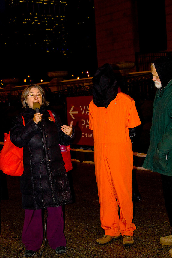 This Guantanamo vigil took place in Chicago, Illinois