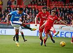 08.05.2018 Aberdeen v Rangers:  Alfredo Morelos and Ryan Christie