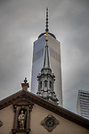 USA, New York, Manhattan, St. Paul Chapel, World Trade Center
