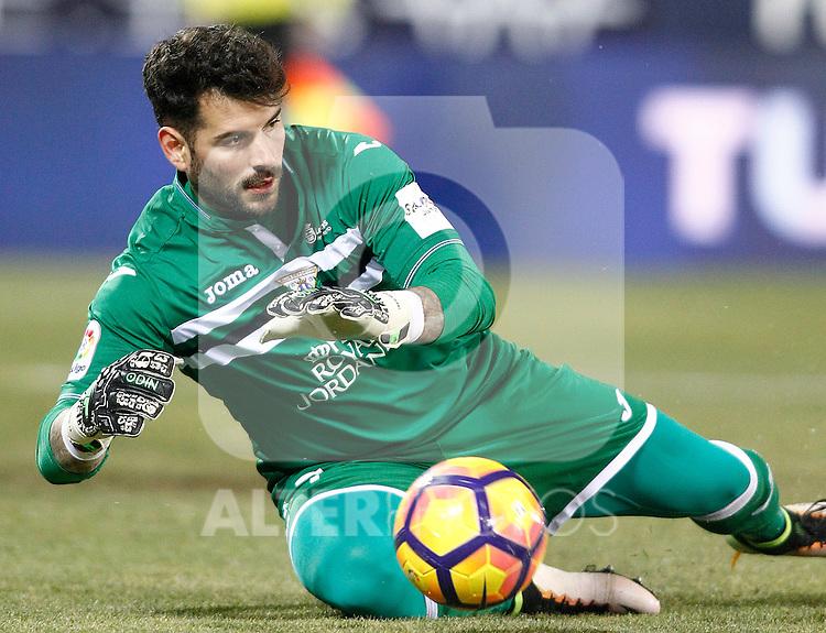 CD Leganes' Iago Herrerin during La Liga match. January 28,2017. (ALTERPHOTOS/Acero)