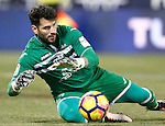 CD Leganes' Iago Herrerin during La Liga match. January 28,2017. (ALTERPHOTOS/Acero)
