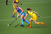 Action from the National Hockey League women's match between Mark Cromie Holden Northland and Southern Storm at National Hockey Stadium in Wellington, New Zealand on Thursday, 21 October 2017. Photo: Dave Lintott / lintottphoto.co.nz