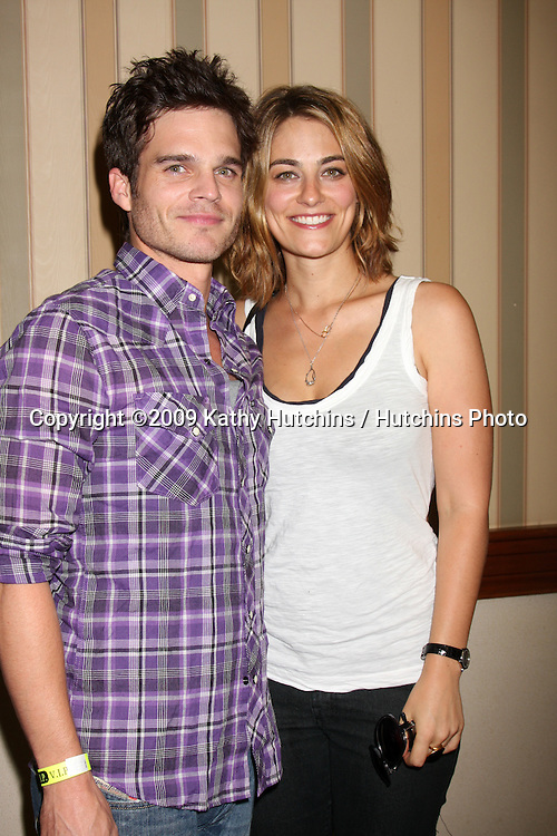 Greg Rikaart & Clementine Ford at The Young & the Restless Fan Club Dinner  at the Sheraton Universal Hotel in  Los Angeles, CA on August 28, 2009.©2009 Kathy Hutchins / Hutchins Photo.