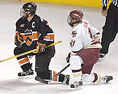 Patrick Neundorfer, Joe Adams - Boston College defeated Princeton University 5-1 on Saturday, December 31, 2005 at Magness Arena in Denver, Colorado to win the Denver Cup.  It was the first meeting between the two teams since the Hockey East conference began play.