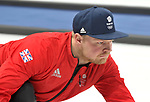 Cameron Smith (GBR). Mens Curling training. Pyeongchang2018 winter Olympics Gangneung curling centre. Gangneung. Republic of Korea. 12/02/2018. ~ MANDATORY CREDIT Garry Bowden/SIPPA - NO UNAUTHORISED USE - +44 7837 394578