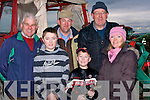 PREPARING: Preparing their plough at the Causeway Ploughing Competition,on Sunday on Timmy Leahy's land, Causeway. L-r: Kieran O'Grady, Gearo?id O'Neill, John O'Grrady, Gerald O'Neill, Maurice Quille and Vera O'Grady.(Causeway and Ballyduff).....................