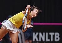 April 18, 2015, Netherlands, Den Bosch, Maaspoort, Fedcup Netherlands-Australia,  First match  Jarmila Gajdosova (AUS)<br /> Photo: Tennisimages/Henk Koster