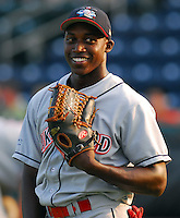 15 Aug 2007:  Julian Williams of the Lakewood BlueClaws, Class A affiliate of the Philadelphia Phillies, in a game against the Greenville Drive at West End Field in Greenville, S.C. Photo by:  Tom Priddy/Four Seam Images