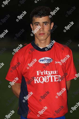 2010-08-03 / Voetbal / seizoen 2010-2011 / Rapid Leest / Rachid EL Kachari..Foto: mpics