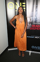10 July 2019 - Los Angeles, California - DomiNique Perry. LA Press Junket For TV One's A Month Of Love, Lies, And Murder held at TV One Headquarters. Photo Credit: Faye Sadou/AdMedia