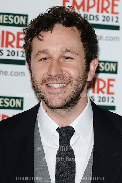 Chris O'Dowd arriving for the Empire Film Awards 2012 at the Grosvenor House Hotel, London. 25/03/2012 Picture by: Steve Vas / Featureflash