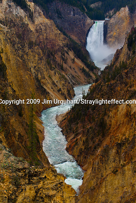 Jim Urquhart/Straylighteffect.com Jim Urquhart/Straylighteffect.com The Lower Yellowstone Falls on the Yellowstone River in Yellowstone National Park. Jim Urquhart/Straylighteffect.com