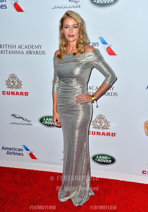 BEVERLY HILLS, CA. October 26, 2018: Louise Lombard at the 2018 British Academy Britannia Awards at the Beverly Hilton Hotel.<br /> Picture: Paul Smith/Featureflash