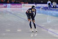SCHAATSEN: HEERENVEEN: IJsstadion Thialf, 16-11-2012, Essent ISU World Cup, Season 2012-2013, Men 5000 meter Division B, winner Seung-Hoon Lee (KOR), ©foto Martin de Jong