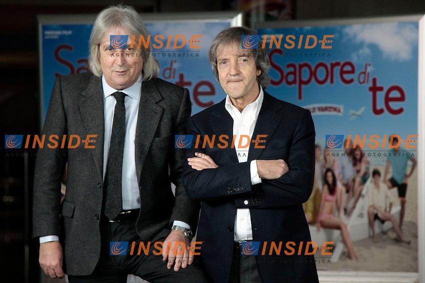 Enrico e Carlo Vanzina<br /> Roma 08-01-2014 Cinema Adriano, Sapore di Te - Photocall<br /> Photo Samantha Zucchi Insidefoto