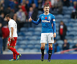 Andy Halliday with his Fonz look at full-time