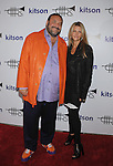WEST HOLLYWOOD, CA. - October 21: Joel Silver and Karen Silver arrive at the Lamar Odom launch of Rich Soil at Kitson L.A. on October 21, 2009 in West Hollywood, California.