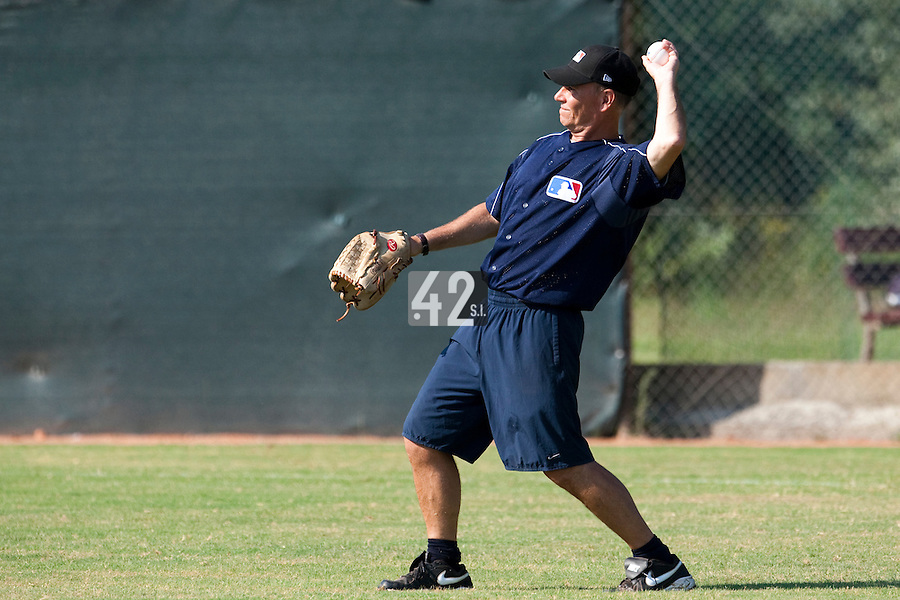 Baseball - MLB Academy - Tirrenia (Italy) - 19/08/2009 - Mike McClellan