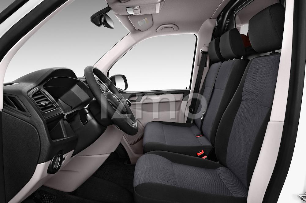 Front seat view of 2016 Volkswagen Transporter-Furgon - 4 Door Cargo Van Front Seat  car photos