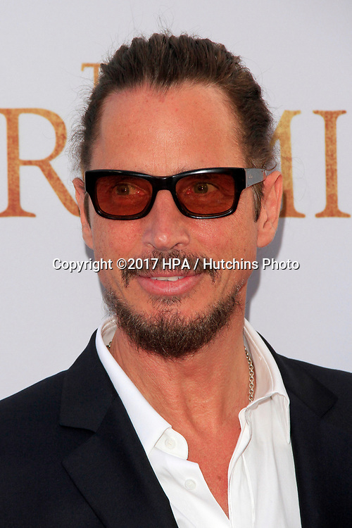 """LOS ANGELES - APR 12:  Chris Cornell at the """"The Promise"""" Premiere at the TCL Chinese Theater IMAX on April 12, 2017 in Los Angeles, CA"""