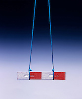 SUSPENDED MAGNETS ATTRACT EACH OTHER - 2 of 2<br />