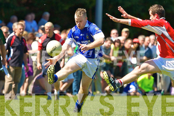 Laune Rangers v Rathmore in the Kerry County Championship at Beaufort on Sunday.