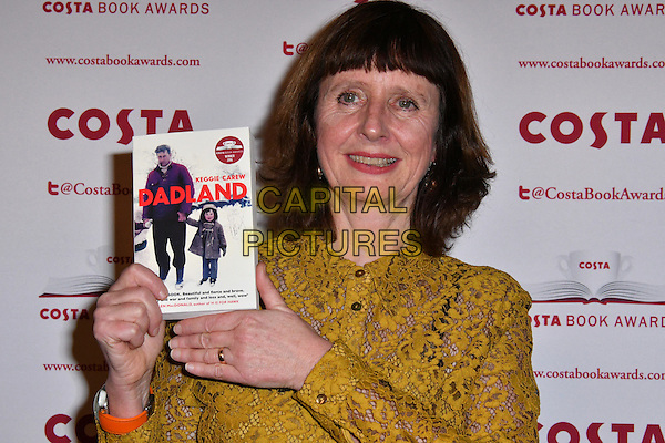 Keggie Carew<br /> Costa Book Of The Year Award 2016, at Quaglino&rsquo;s, London, England on January 31, 2017.<br /> CAP/JOR<br /> &copy;JOR/Capital Pictures