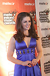 Sile Seoige at the Meteor Awards in the RDS...Photo NEWSFILE/Jenny Matthews.(Photo credit should read Jenny Matthews/NEWSFILE)....This Picture has been sent you under the condtions enclosed by:.Newsfile Ltd..The Studio,.Millmount Abbey,.Drogheda,.Co Meath..Ireland..Tel: +353(0)41-9871240.Fax: +353(0)41-9871260.GSM: +353(0)86-2500958.email: pictures@newsfile.ie.www.newsfile.ie.FTP: 193.120.102.198.