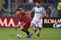Diego Perotti Roma, Danilo D Ambrosio Inter <br /> Roma 26-08-2017 Stadio Olimpico Calcio Serie A AS Roma - Inter Foto Andrea Staccioli / Insidefoto