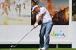 Paul McGinley (IRL) tees off on the 16th tee during Day 3 Saturday of the Open de Andalucia de Golf at Parador Golf Club Malaga 26th March 2011. (Photo Eoin Clarke/Golffile 2011)