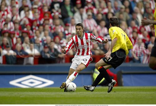 FABRICE FERNANDES runs with the ball, SOUTHAMPTON 2 v Watford 1, FA Cup Semi-Final, Villa Park 030413 Photo: Glyn Kirk/Action Plus...2003 football soccer