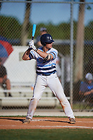 Kevin Parada during the WWBA World Championship at the Roger Dean Complex on October 19, 2018 in Jupiter, Florida.  Kevin Parada is a catcher from Pasadena, California who attends Loyola High School and is committed to Georgia Tech.  (Mike Janes/Four Seam Images)