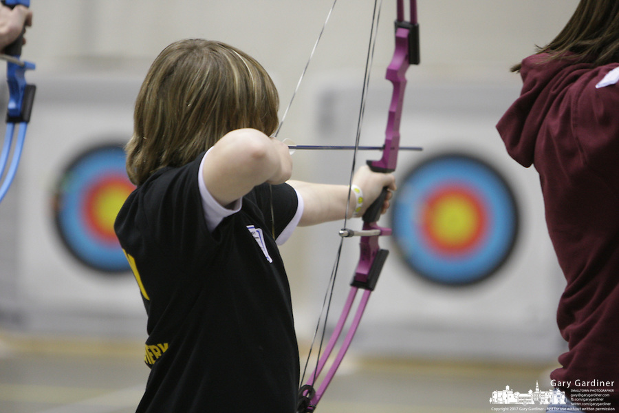 Archery competition at 2008 Arnold Sports Festival. Photo Copyright Chris Putman..