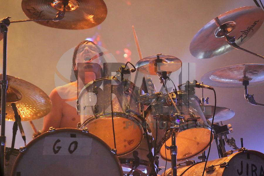RIO DE JANEIRO, RJ, 19.09.2015 - ROCK-RIO - Show da banda Gojira durante o segundo dia do Rock in Rio, na Barra da Tijuca, zona oeste do Rio de Janeiro, na tarde deste sábado (19). (Foto: Isabela Catão/Brazil Photo Press)